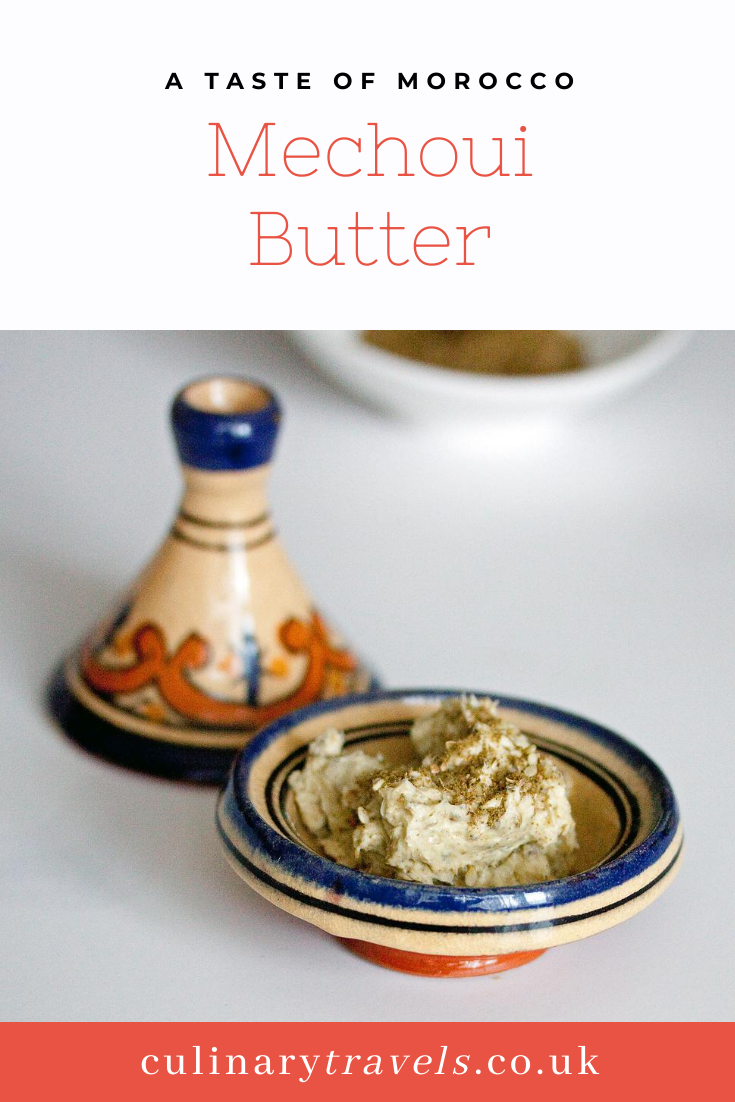 Mechoui Butter - a Moroccan, spiced butter. This is so versatile, use it on meat, fish or vegetables.