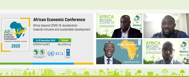 African Economic Conference (AEC) 2020 - Day 2.