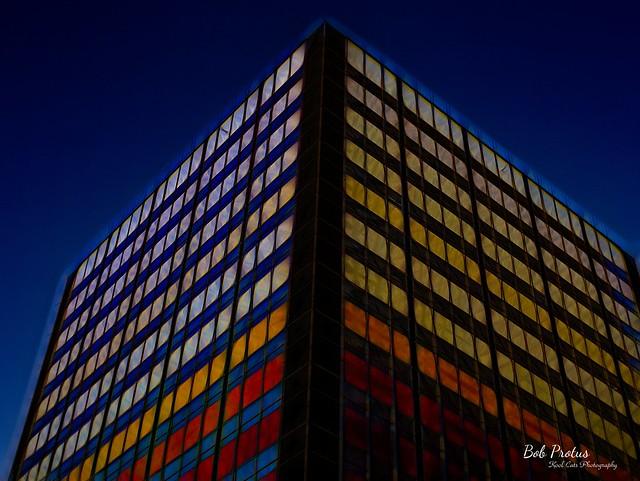 Intense Color - Downtown Oklahoma City, Oklahoma