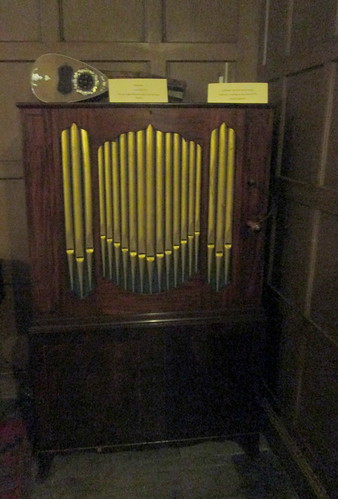 Organ, Calke Abbey