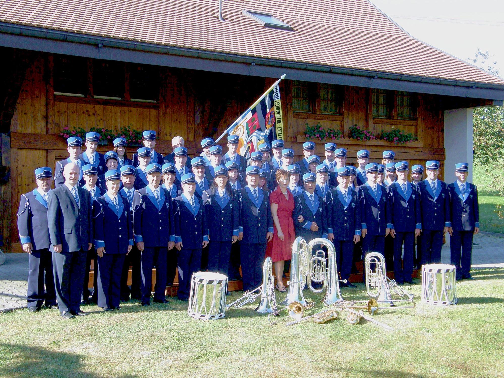 Inauguration des uniformes 2009