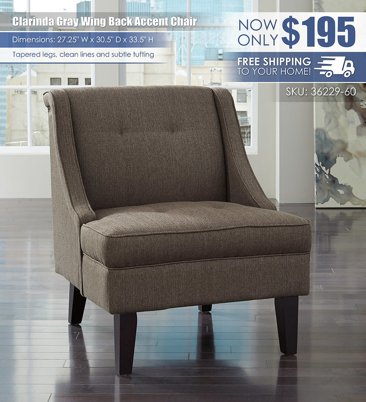 Clarinda Gray Accent Chair_36229-60_wDeliveryOption