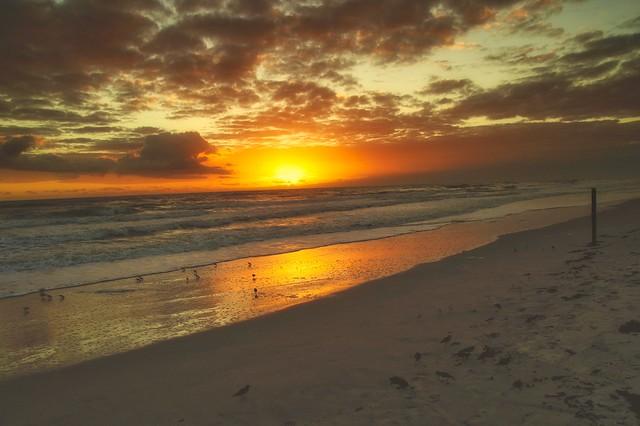 Here comes the sun..... Ormond Beach, Florida