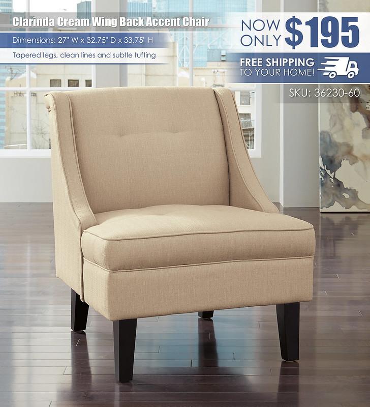 Clarinda Cream Accent Chair_36230-60_wDeliveryOption