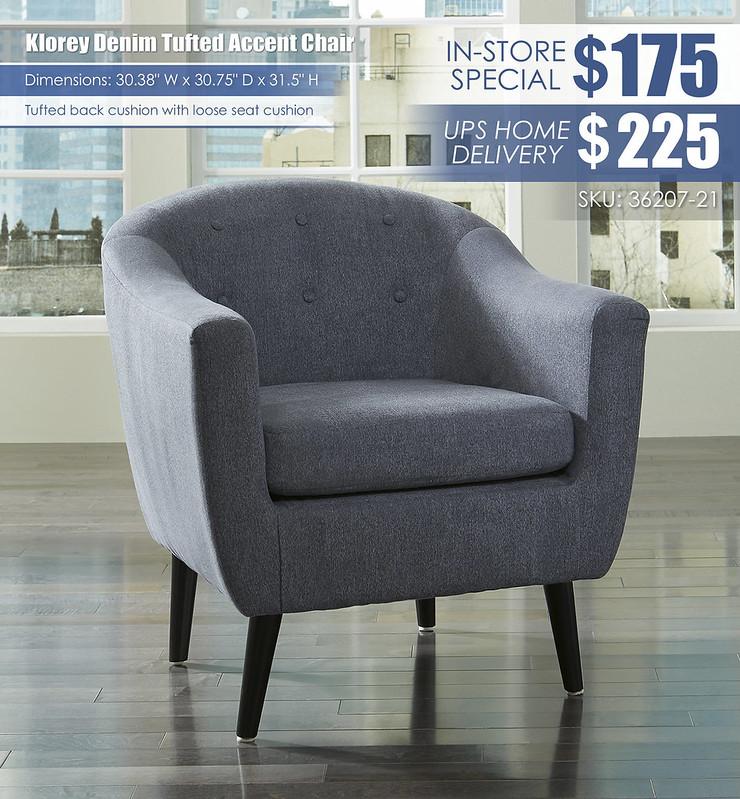 Klorey Denim Accent Chair_36207-21_wDeliveryOption