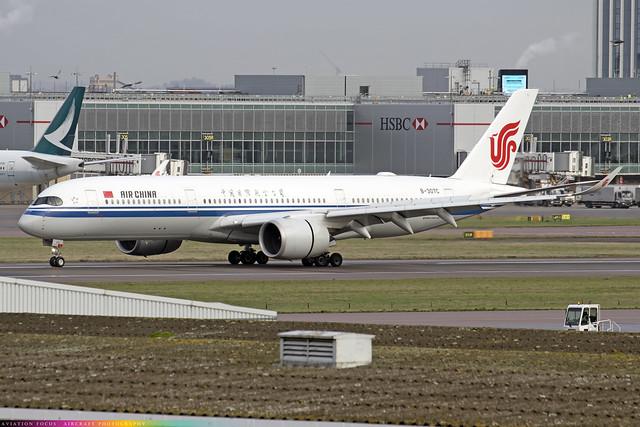 B-307C  -  Airbus A350-941  -  Air China  -  LHR/EGLL 9/12/20