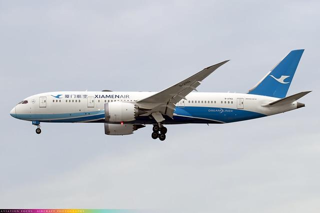 B-2762  -  Boeing 787-8 Dreamliner  -  Xiamen Air  -  LHR/EGLL 9/12/20