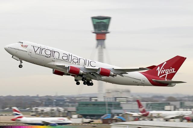 G-VLIP  -  Boeing 747-443  -  Virgin Atlantic Airways  -  LHR/EGLL 9/12/20