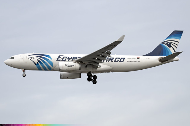 SU-GCJ  -  Airbus A330-243F  -  Egypt Air Cargo  -  LHR/EGLL 9-12-20