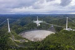 Arecibo, il video che mostra come si è distrutto il radiotelescopio