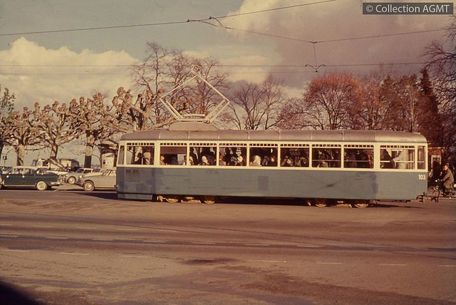 Trams de Genève (Suisse)