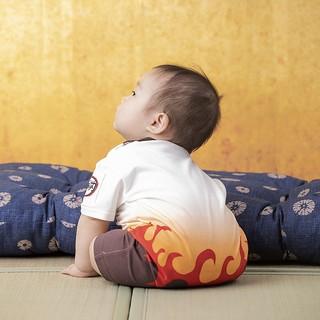 讓家中寶貝變身大哥!萬代推出三款《鬼滅之刃》嬰兒圍兜兜&連身裝套組