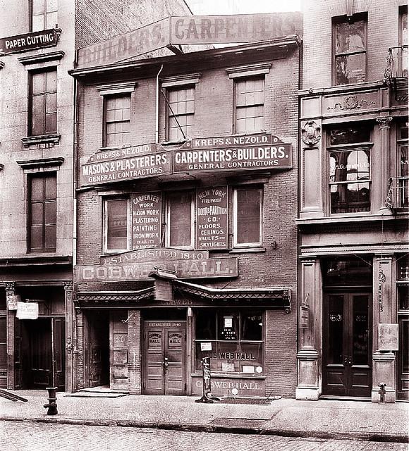 Cobweb Hall -- 1915