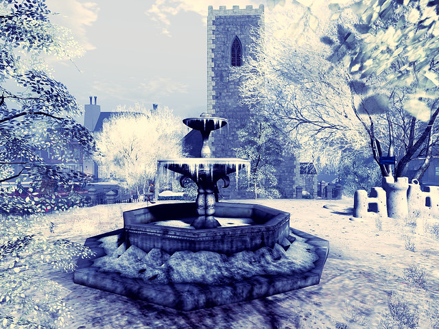 The Dickens Project 2020 - Frozen Fountain In the Churchyard