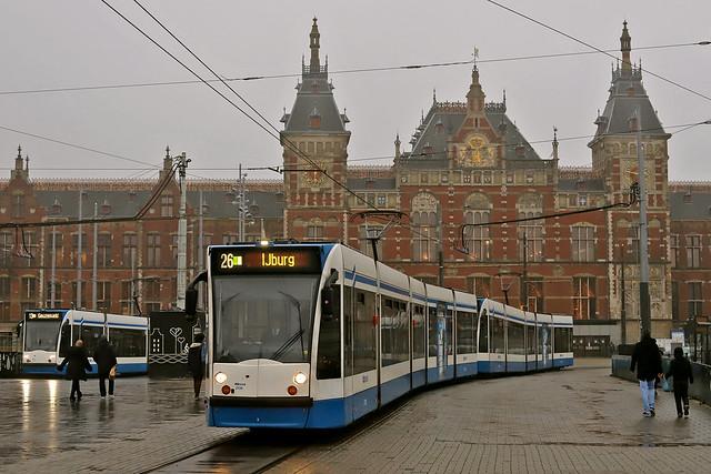 GVB 2136 + 2135 Amsterdam 30 november 2020