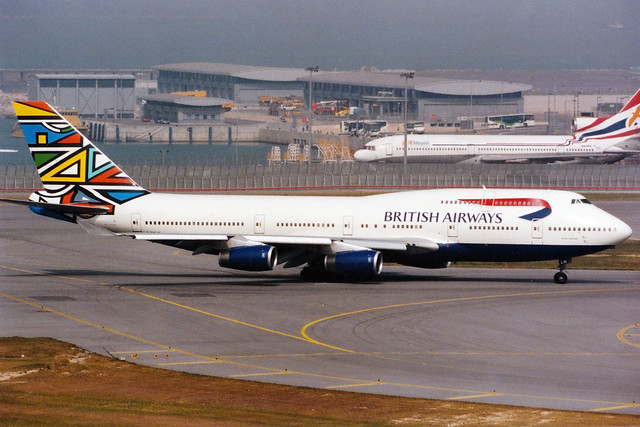 British Airways | Boeing 747-400 | G-BNLM | Martha Masanabo | Hong Kong International