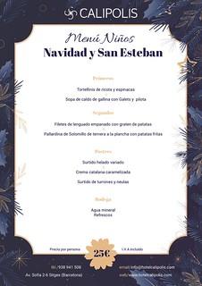 Navidad/S.Esteban - niños- Calipolis