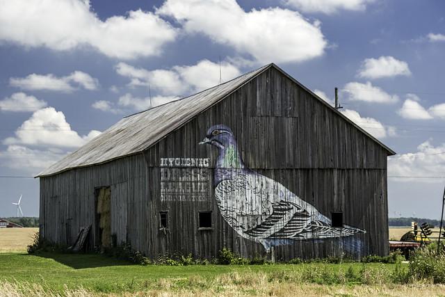 HDL American Gothic Barn Art