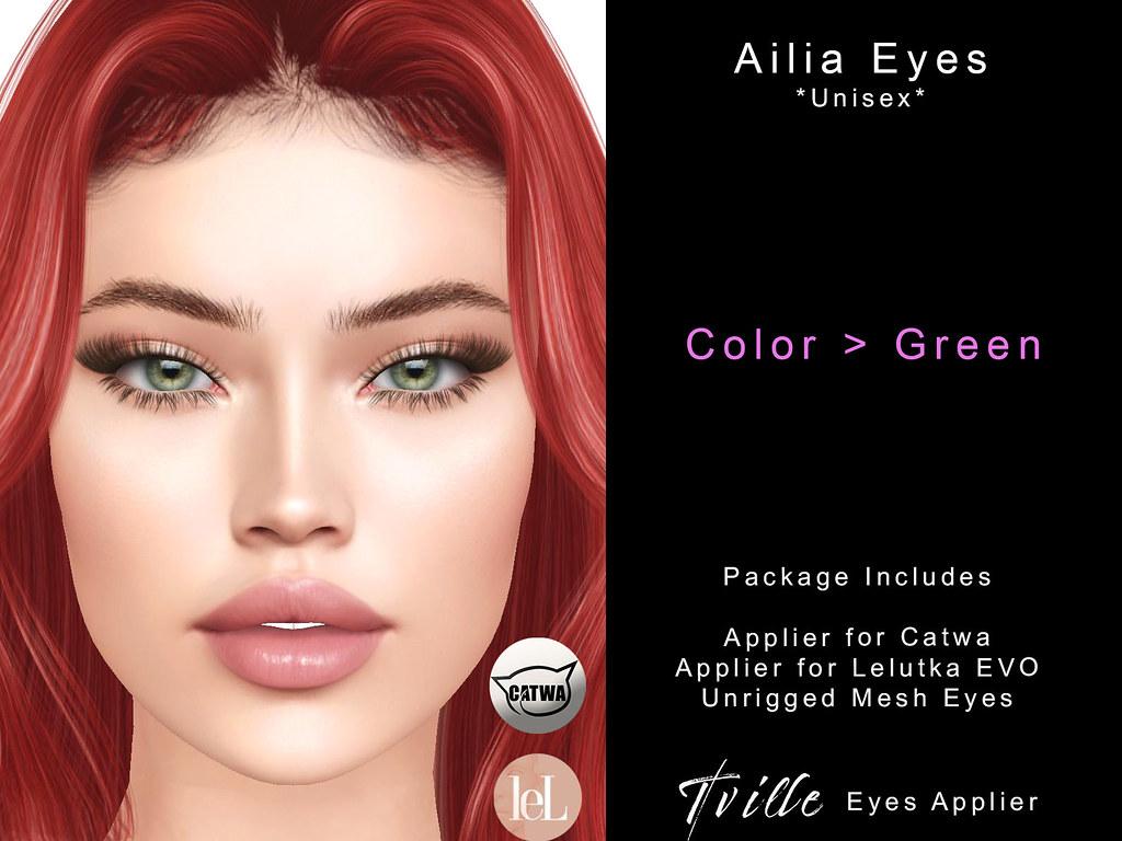 Tville - Ailia Eyes - Green