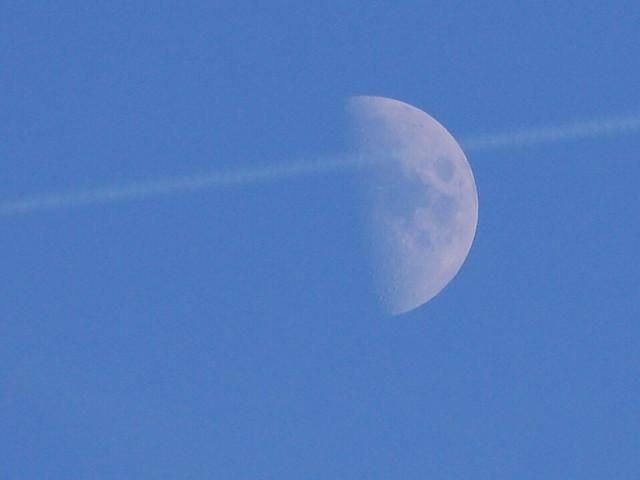 Croissant de lune amoureux