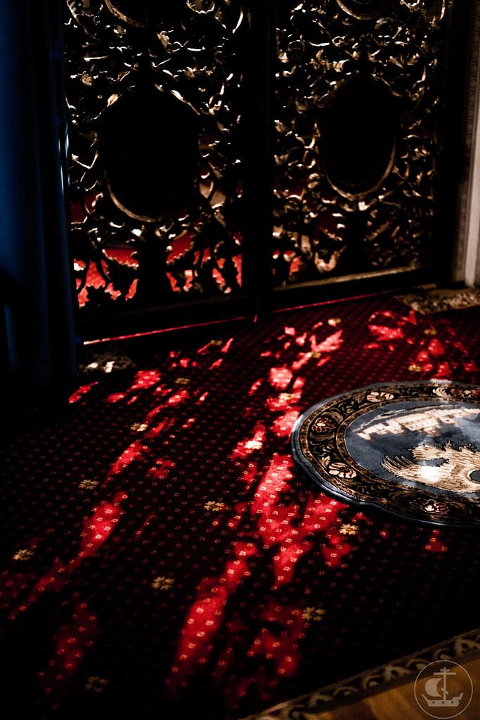 """9-10 декабря 2020, Празднование в честь иконы Божией Матери """"Знамение"""" / 9-10 December 2020, The celebration in honor of the icon of the Mother of God """"Of the Sign"""""""