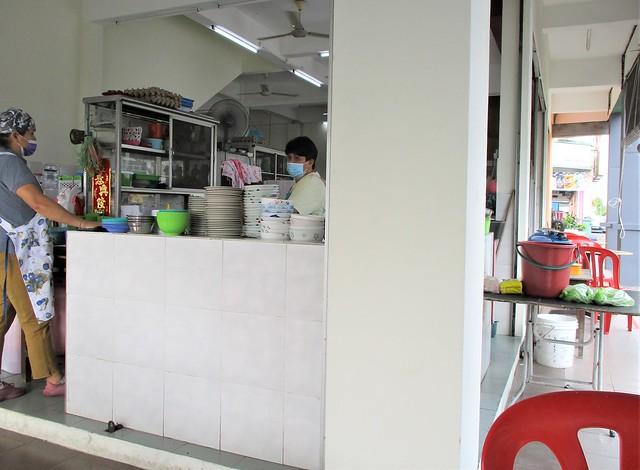 Ing Choon Corner kampua mee stall