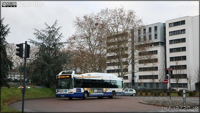 Heuliez Bus GX 317 GNV – Tisséo n°0518