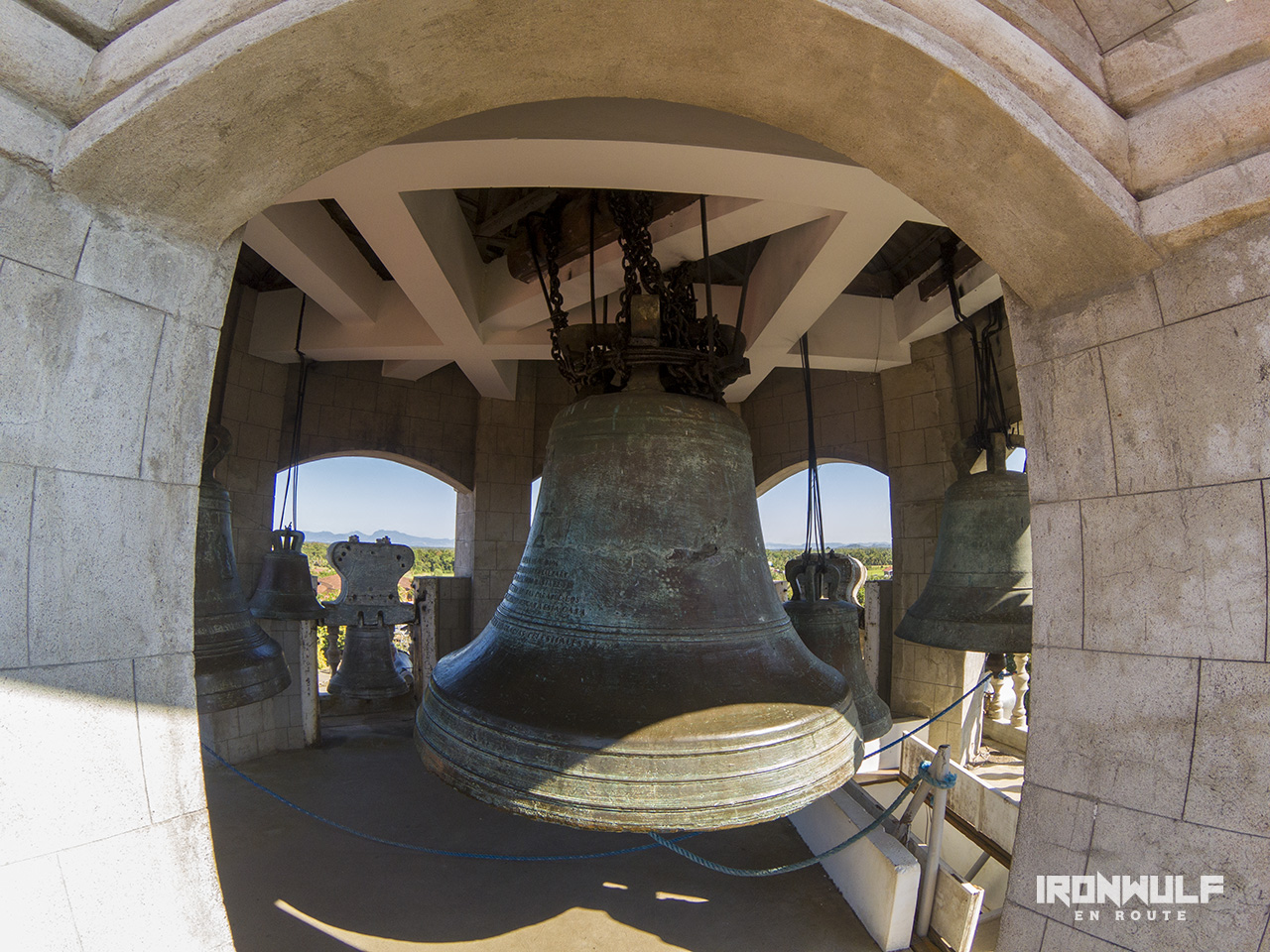 The Dakong Lingganay, the biggest church bell in Asia