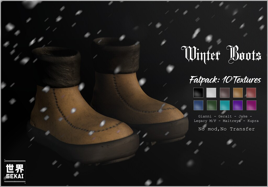 +SEKAI+ Winter Boots [NEW] – Winter Spirit Event