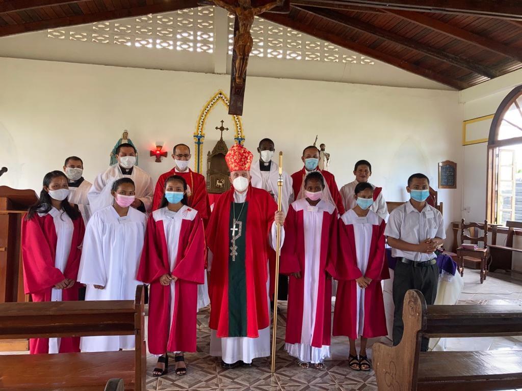 GUYANA: Confirmaciones en Charity