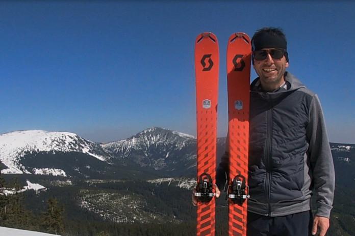 Scott Superguide 88: lyže pro celodenní skitouring