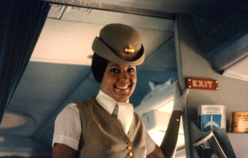 Pan Am Airline Hostess