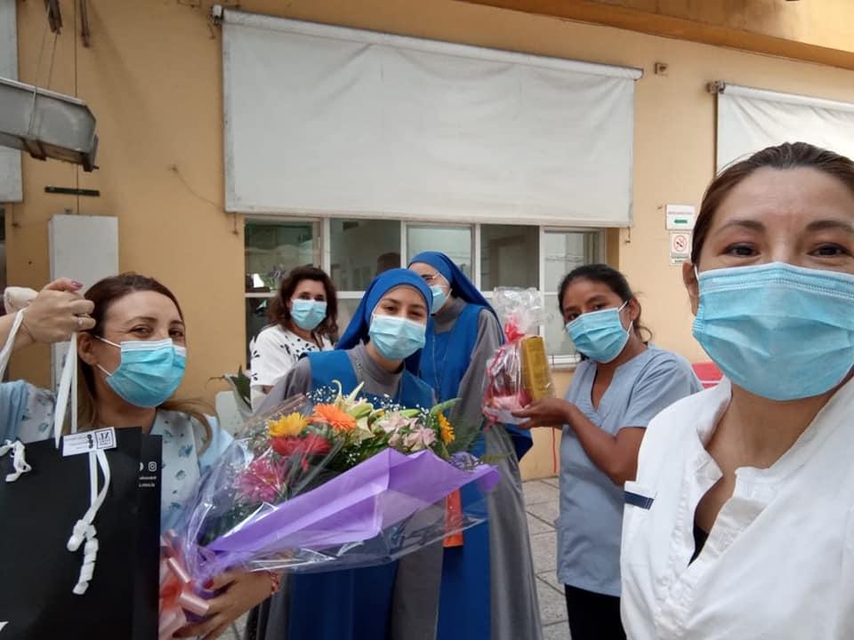 Día del médico en La Plata, Argentina