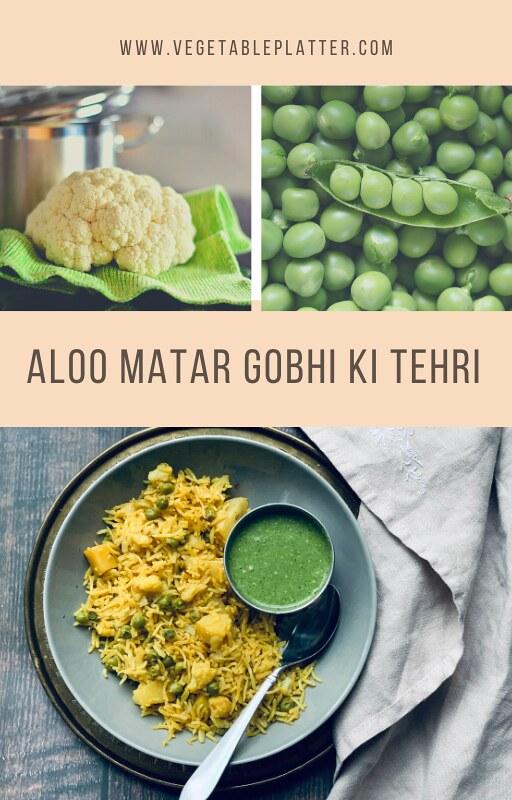 Aloo Matar Gobhi Ki Tehri