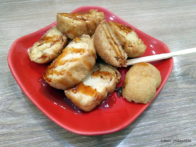 Taiwan traditional sweeten & light dishes at Department store dishes street, Sep 25, 2020, SJKen