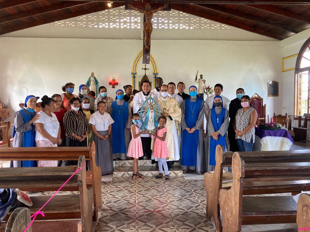 Consagración de la región al Inmaculado Corazón de María en Guyana