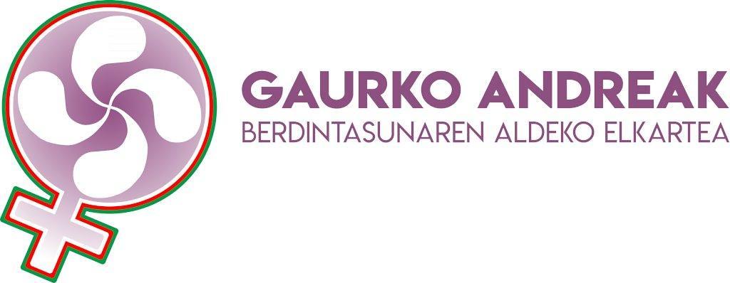 logo Gaurko Andreak Berdintasunaren Aldeko Elkartea