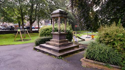 J.W. Crossfield Fountian, Holmes Park