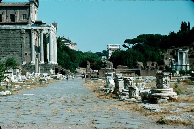 La Via Sacra - Rome