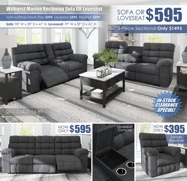 Wilhurst Marine Reclining Sofa OR Loveseat Layout_55403-94-OPEN-89-DDT-DWN-CLSD-T341