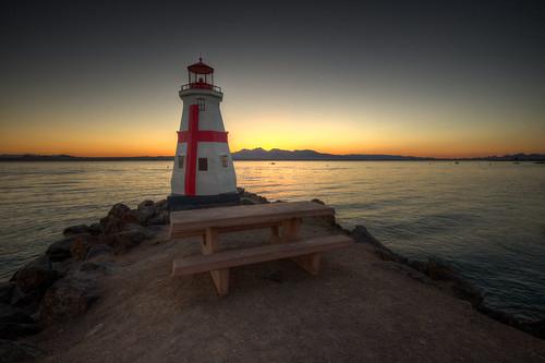 lighthouse sunset tramonto arizona lakehavasu landscape d750 nikon