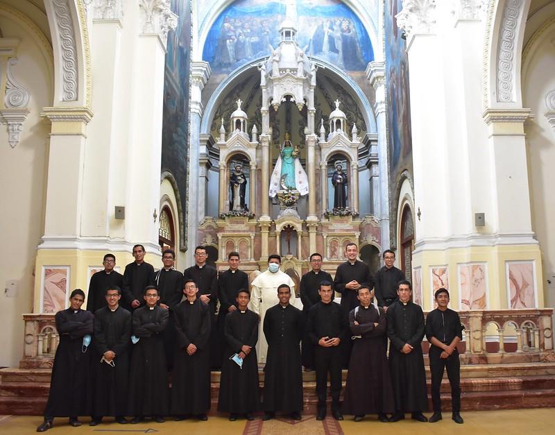 ECUADOR: Peregrinación de los novicios y seminaristas