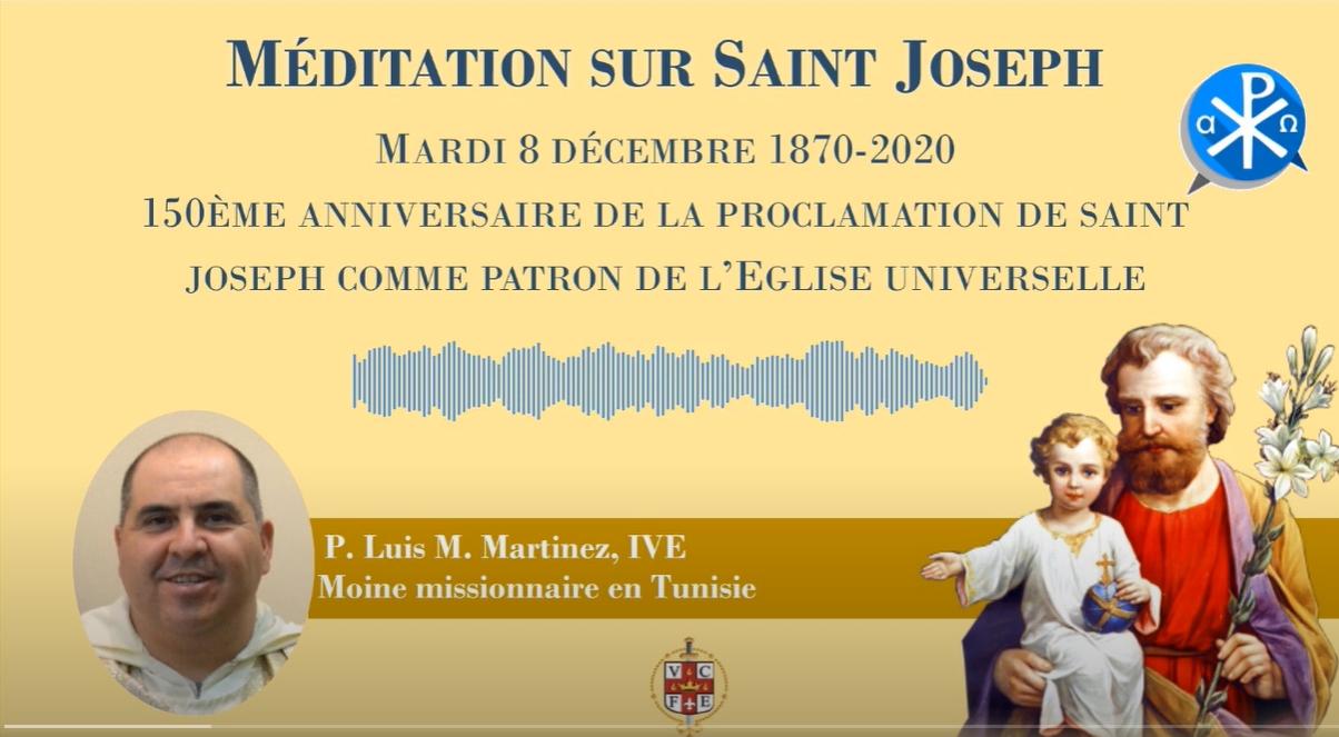 TÚNEZ: Meditación acerca de San José. 150° aniversario de los monjes de Túnez.