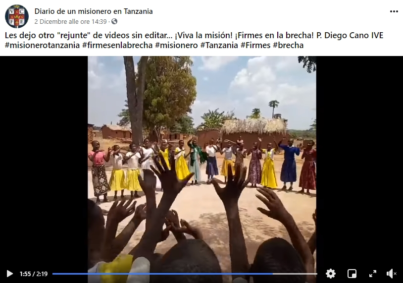 TANZANIA: Videos de la Misión en Salawe