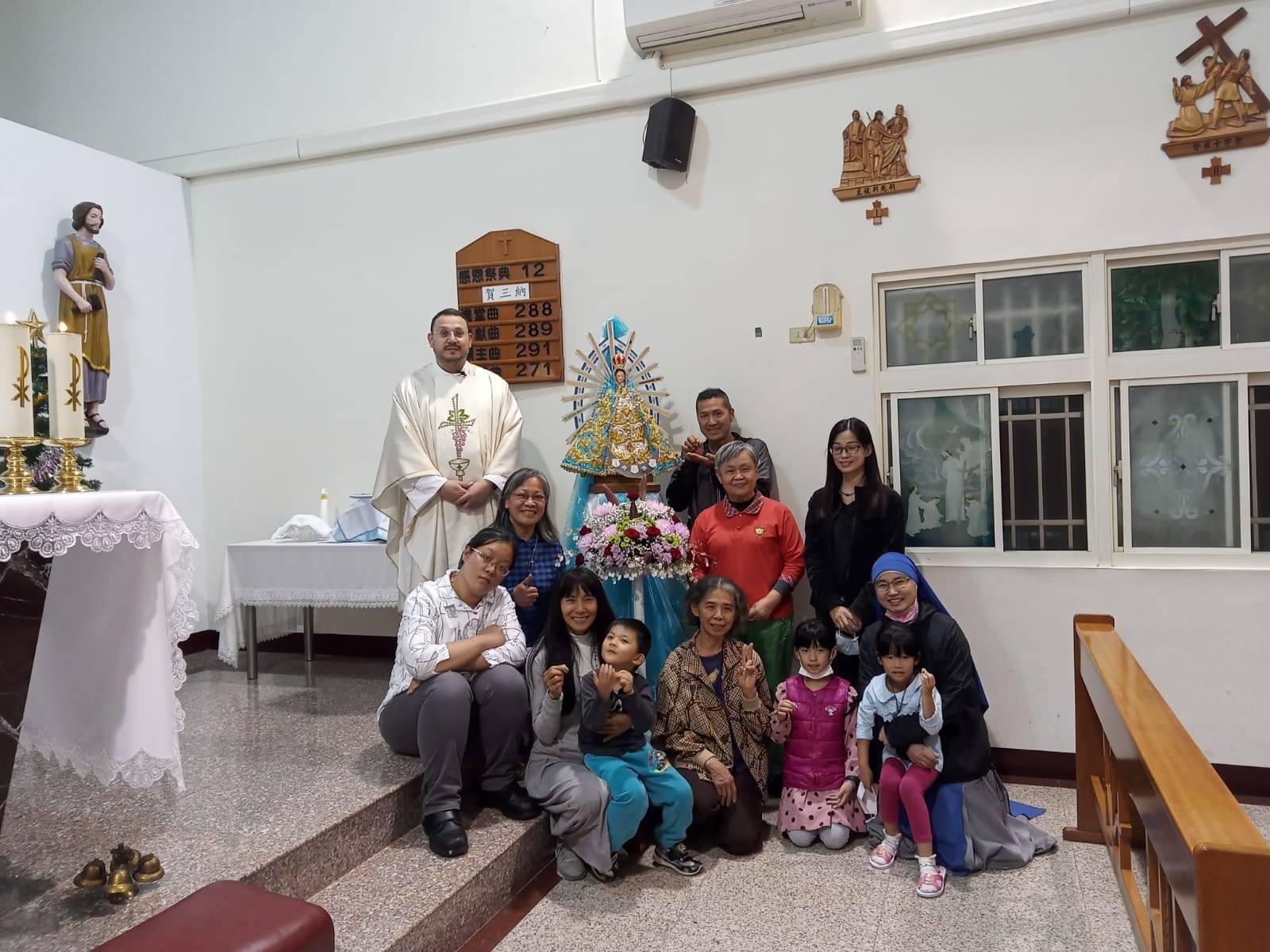TAIWÁN: Consagración a la Virgen en Dali