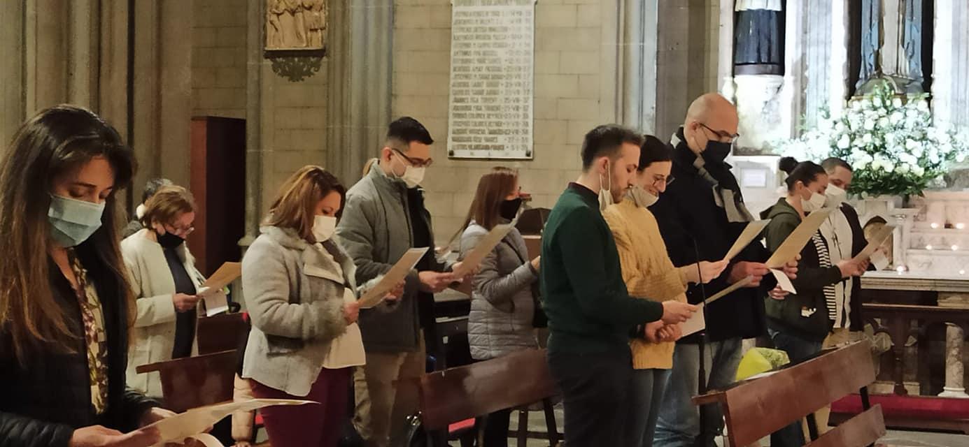 ESPAÑA: 60 nuevos esclavos de amor de la Virgen en Girona