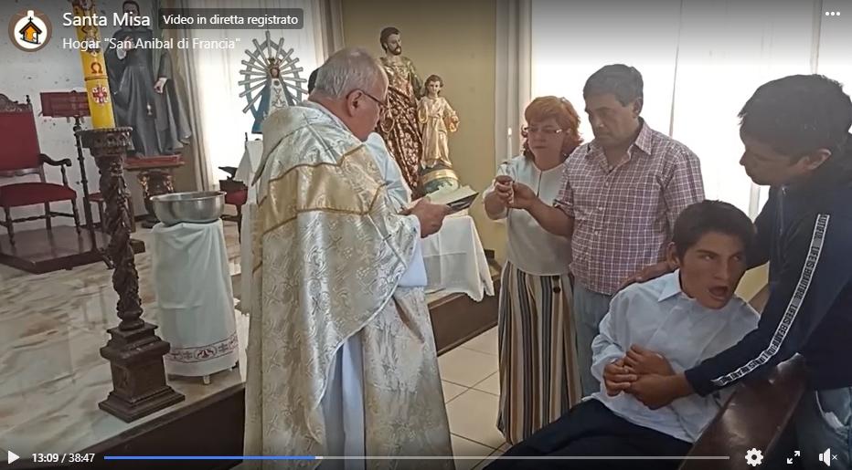 PERÚ: Fiesta de la Inmaculada Concepción y Bautismo de Jefferson en el Hogar San Anibal
