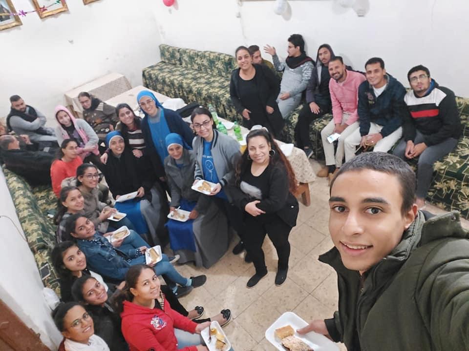 EGIPTO: Actividades con los jóvenes en la parroquia de Luxor