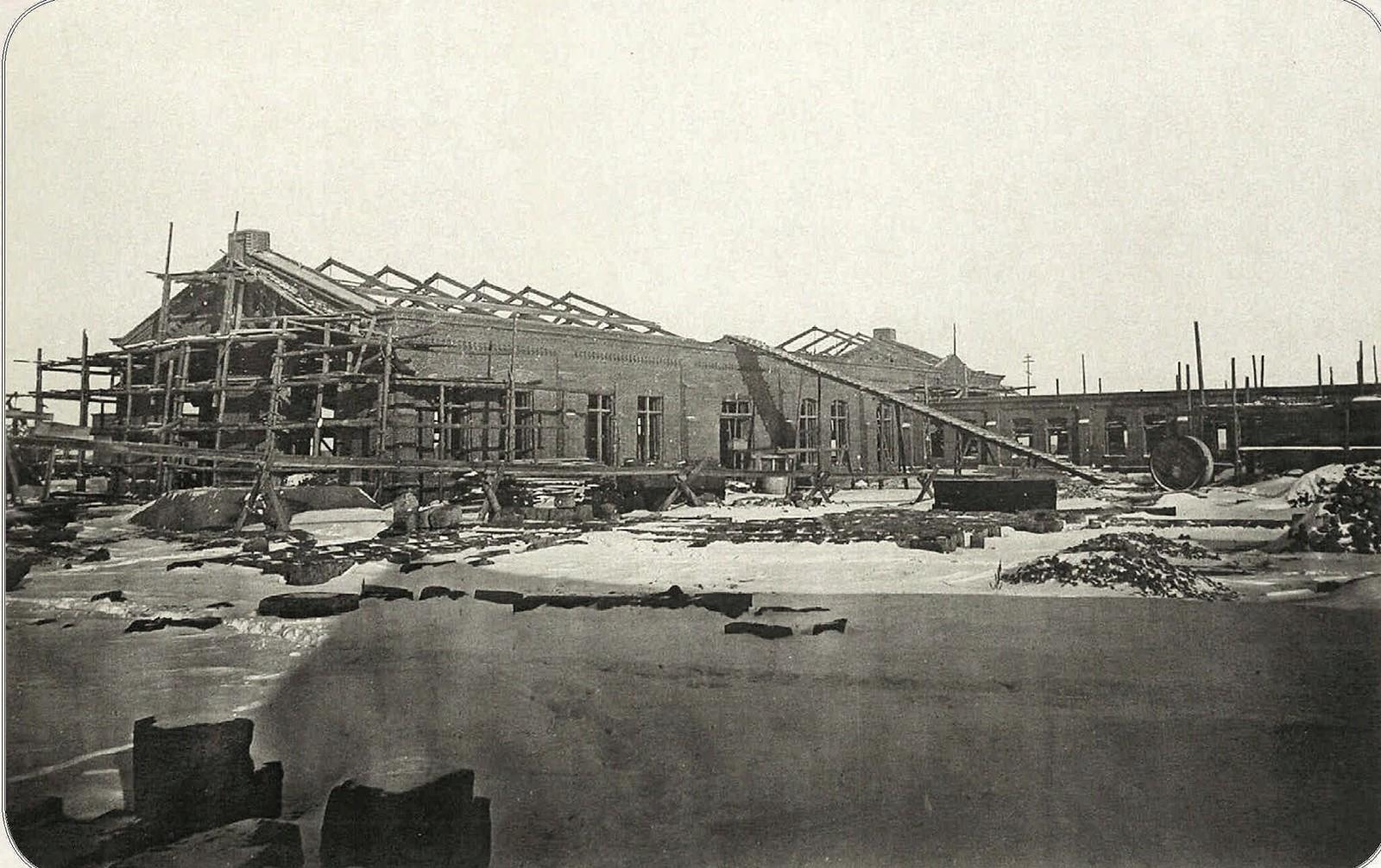 18. Строительство депо