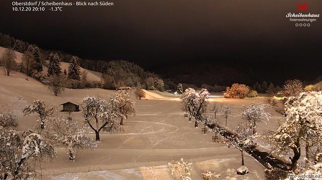 Winterabend Oberstdorf